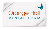 Orange Hall Rental Form