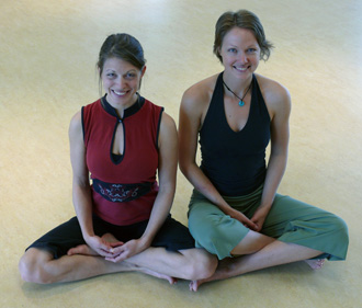Michelle and Jules Yoga teacher training
